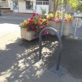 Des supports vélos à votre disposition