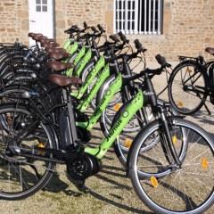 Location de vélos électriques et bornes de recharges
