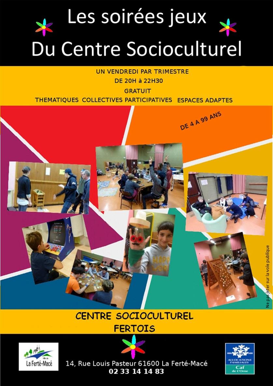 Soirée Jeux Centre Socioculturel