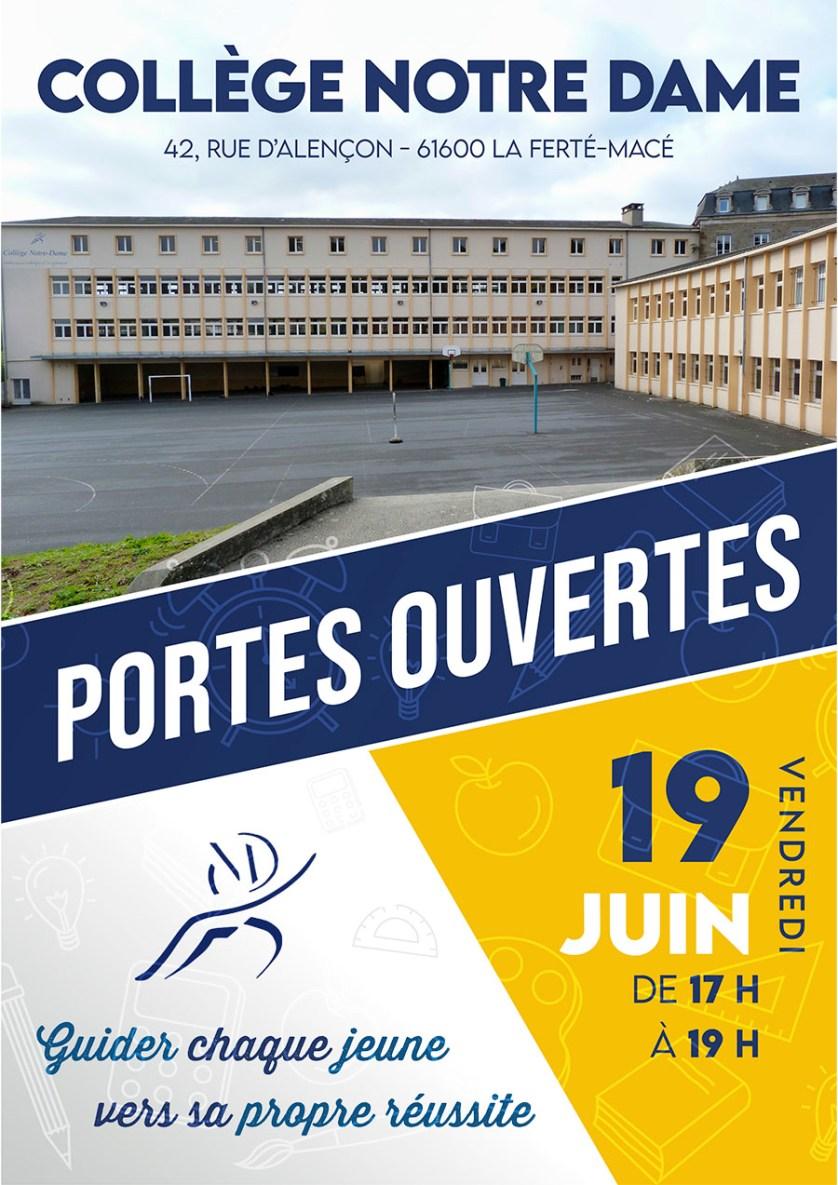 Collège Notre Dame - Portes Ouvertes 2020