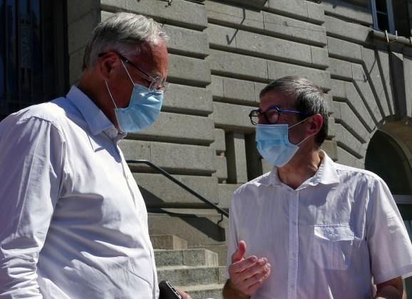 Visite de Christophe de Balorre : Un projet de rénovation urbaine