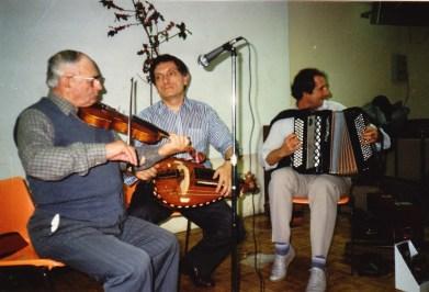 Joseph Perrier, Jean Frébault, Gilles Tissandier