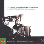Jean Pons, accordéoniste de l'Aubrac