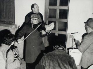 Les Réveillez avec Jean Farges au chant et Joseph Perrier au violon