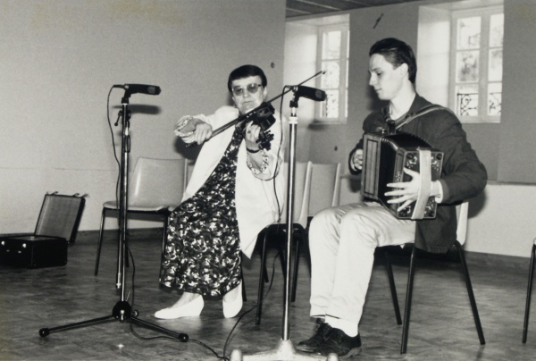 Odette Gatignol et Eric Cousteix