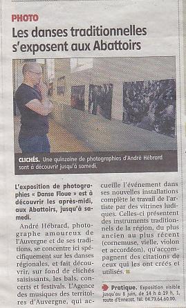 Article La Montagne Expo Hébrard