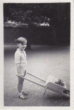 Enfant à la brouette