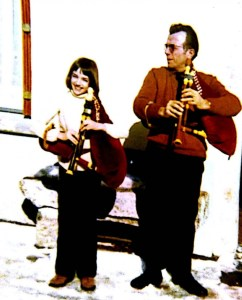 Isabelle Remise et son père Lucien