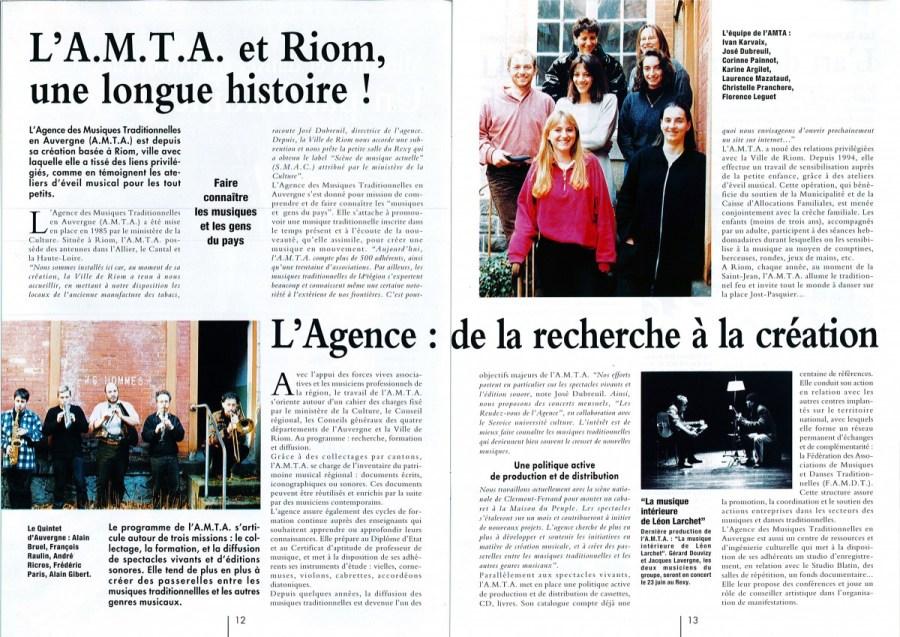 Riom Mag  - Mars 1998