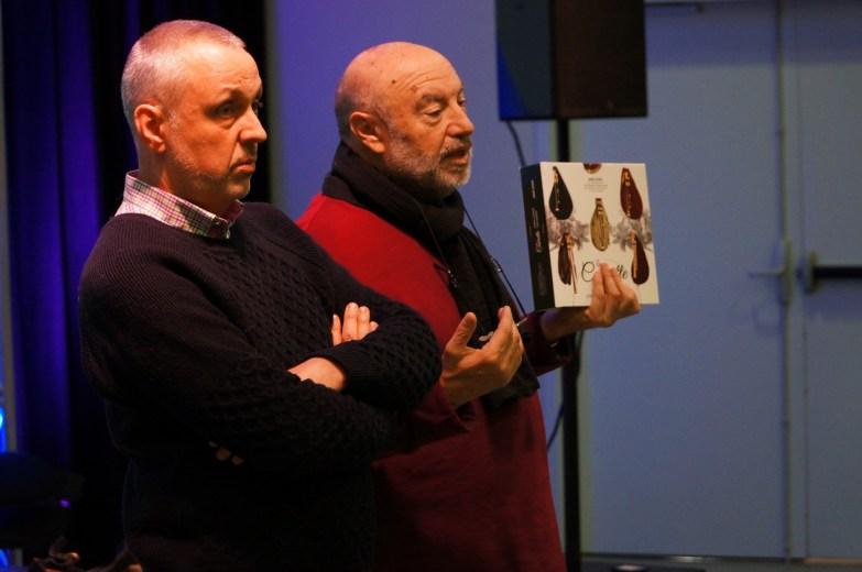 Didier Perre et André Ricros
