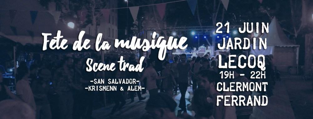 Fête de la musique à Clermont : Scène trad !
