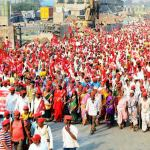 Farmers Protests in Maharashtra to stop forceful acquisition of farmlands - Laffaz