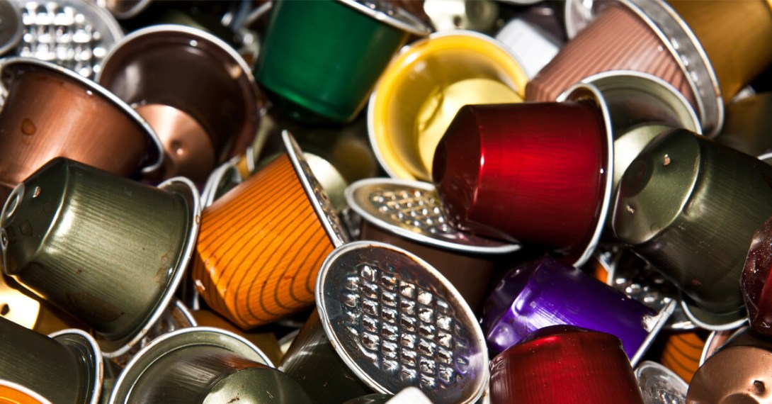Hamburg, Germany banned plastic coffee pods