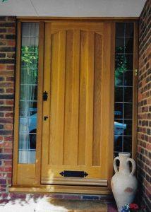 Installed Door