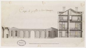 Jean-Michel Chevotet, Hôtel d'Estampes, Ecole nationale supérieure des beaux-arts