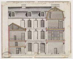 Anonyme, Maison de M.Guillot, Ecole nationale supérieure des beaux-arts