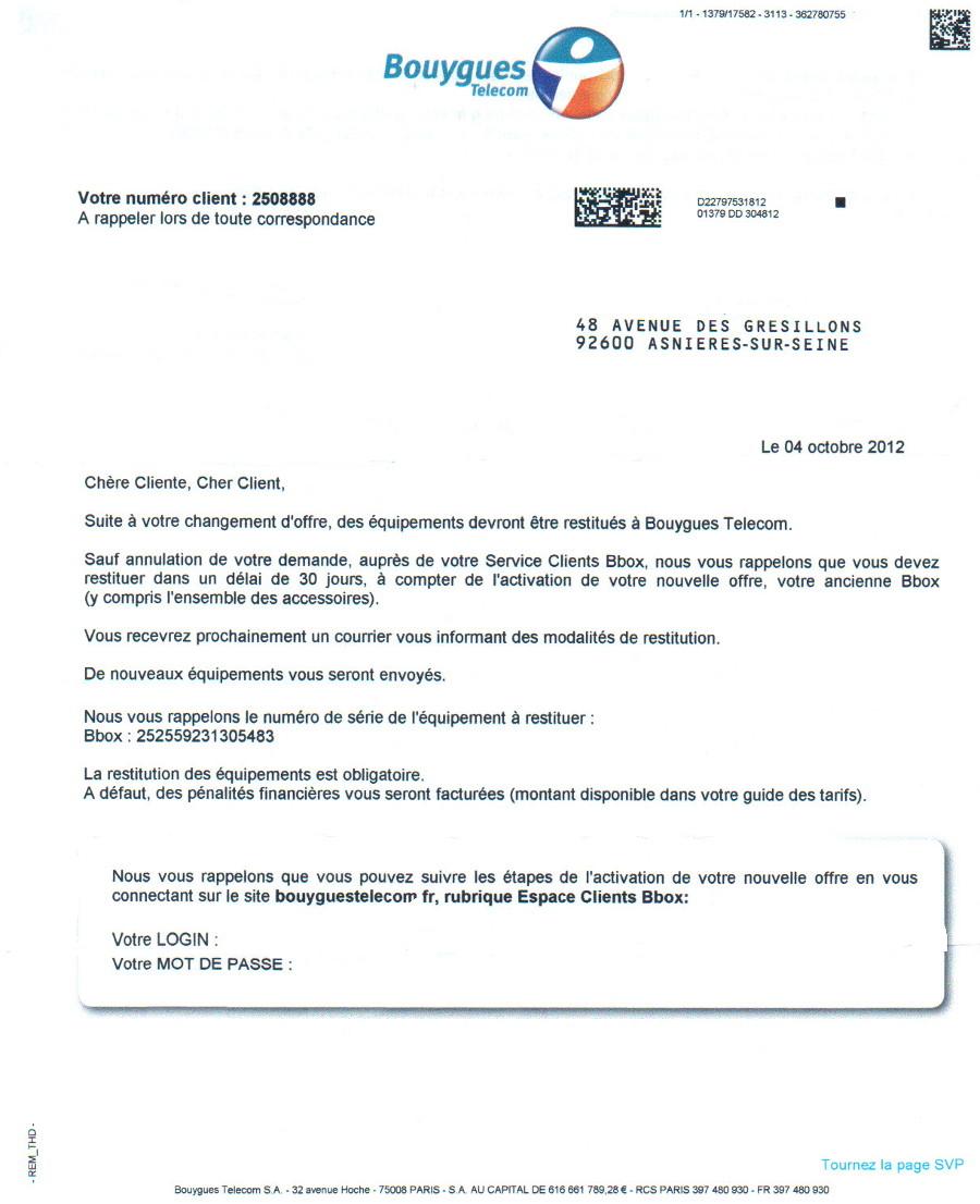 photo lettre de resiliation box bouygues lettre de motivation