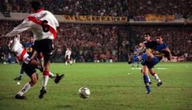 2000: Boca-River Libertadores, round 1 | Tribunero.com
