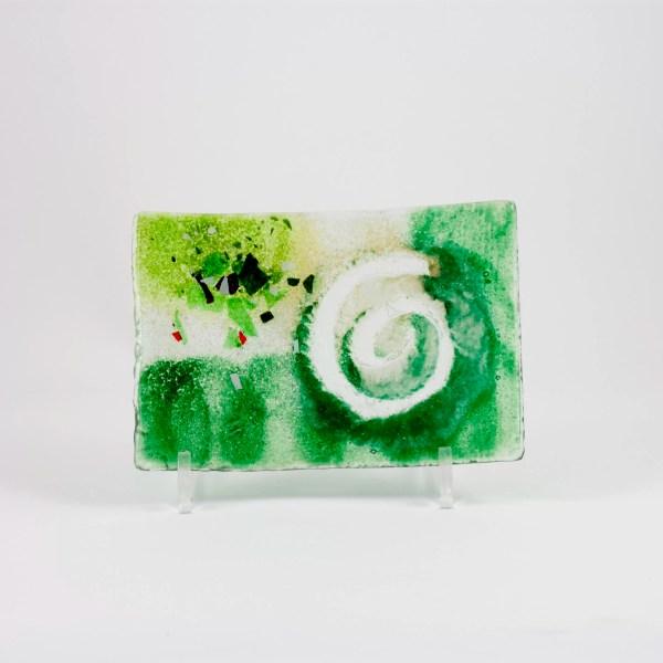 bandeja vidrio fusing