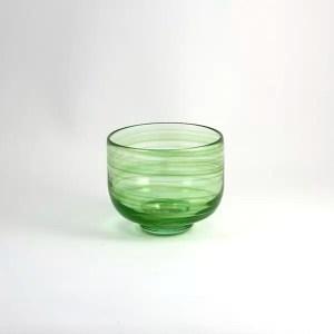Cuenco Vidrio Verde