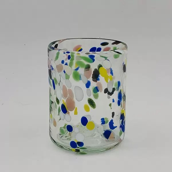 vaso glass colors mallorca Lafiore.com  - Glass Colour Dots