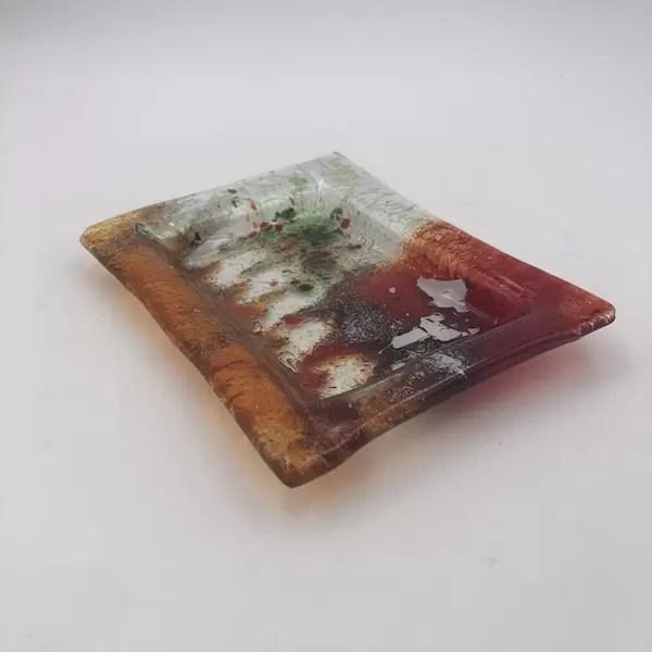 red plate fusing lafiore - Teller Fusion Rojos