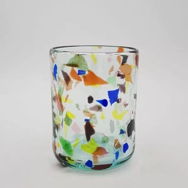 vaso terrazzo y glass - Verano Creativo en Mallorca