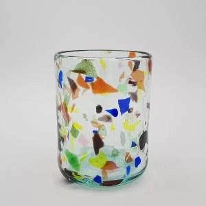 vaso terrazzo y glass - Glass Terrazzo Y