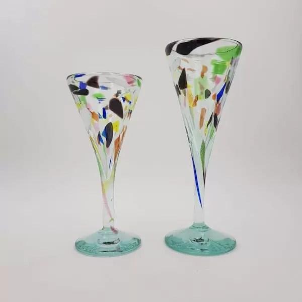 Copas terrazzo y Glass Cup Lafiore - Glass Cup Terrazzo