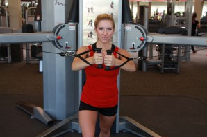 k - Cable chest fly drop sets (2)