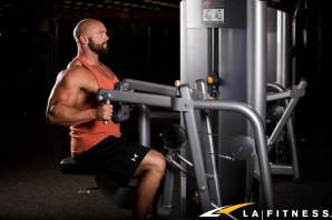 How to use the Row machine at LA Fitness-3