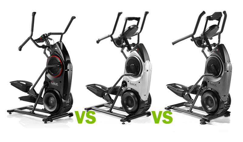 Best of Bowflex: Max Trainer M3 vs. M6(M5) vs. M8(M7