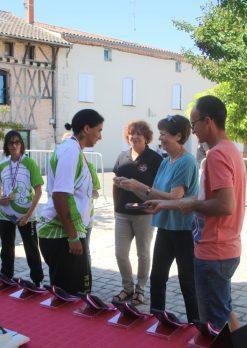 Le 18 juin 2017: Remise de médailles par la municipalité