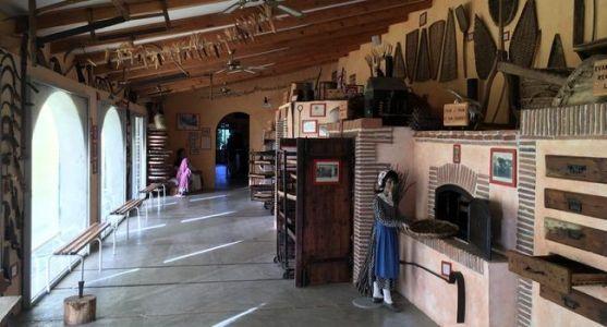 La ferme-musée du pruneau à Lafitte sur Lot .