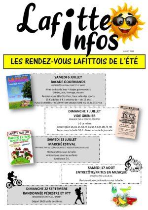 Lafitte Infos, les rendez-vous de l'été