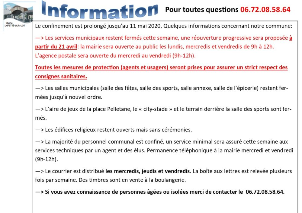 info confinement 4