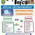 Lafitte-Infos : Spécial déconfinement.