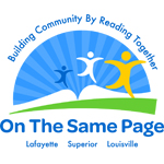 On the Same Page logo
