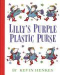 Lilys Purple Plastic Purse