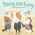 Teasing isn't funny book cover