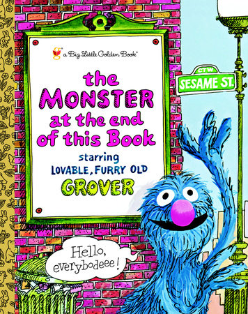 Cover of Monster at the End of This Book