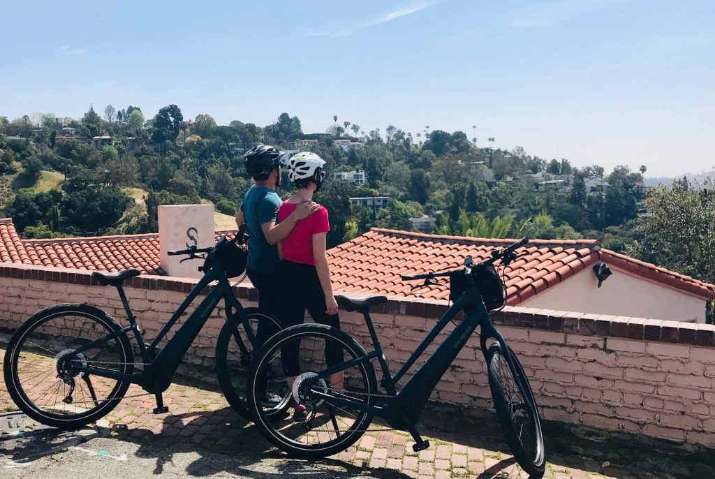 Como ebike on la tour