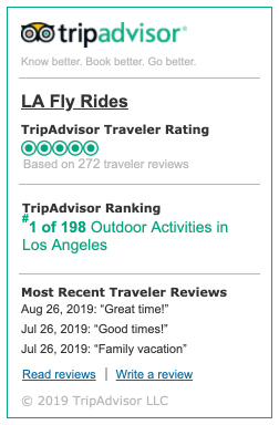 Fly Rides Trip Advisor Top Rated