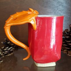 Tasse Dragon - Orange 02