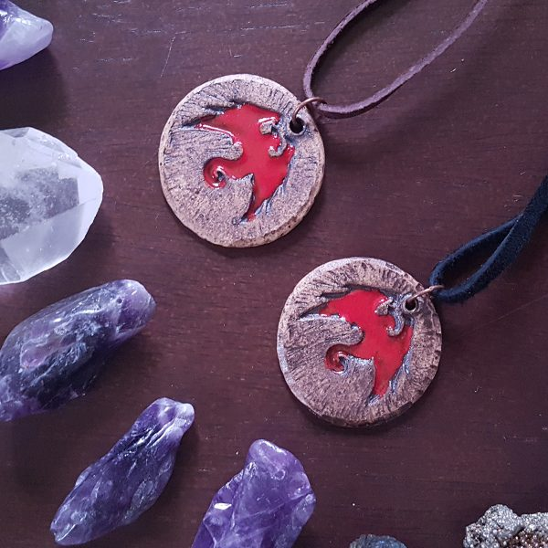 FIRE DRACONIS NECKLACE - 2