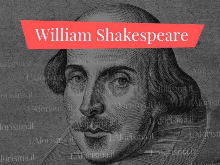Le più belle <strong>frasi di William Shakespeare</strong> – <em>Raccolta completa</em>