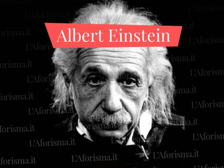 Le più belle <strong>frasi di Albert Einstein</strong> –  <em>Raccolta completa</em>