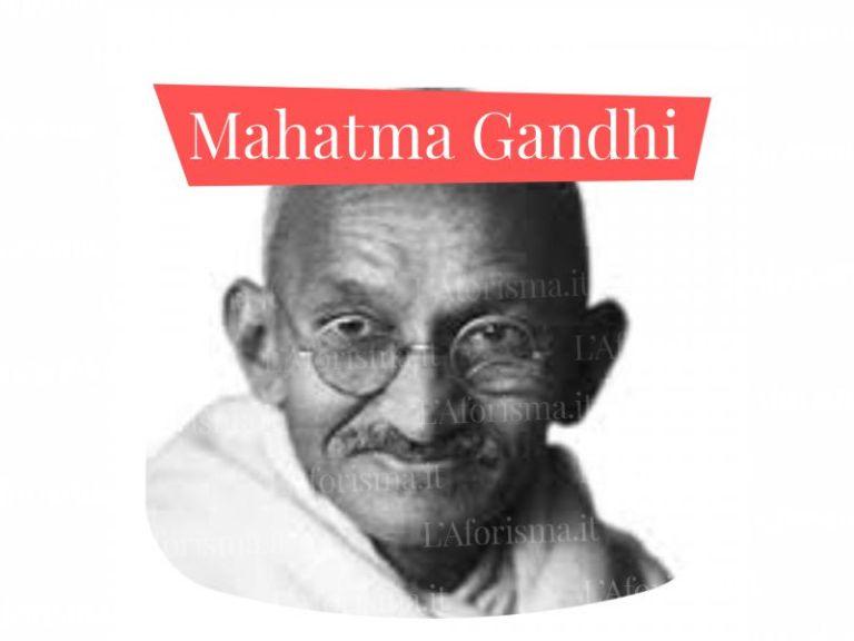 Le più belle <strong>frasi di Mahatma Gandhi</strong> – <em>Raccolta completa</em>