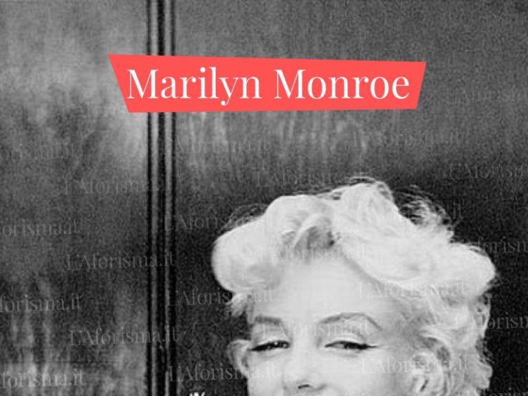 Le Piu Belle Frasi Di Marilyn Monroe Raccolta Completa L