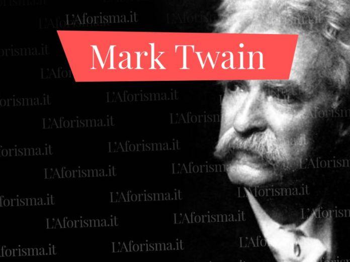 Le più belle frasi di Mark Twain
